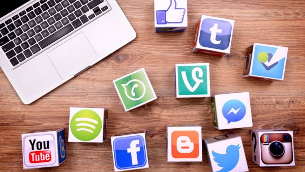 Small business using social media platforms