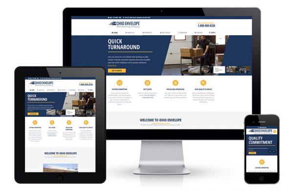Adaptive website, mobile-friendly website design