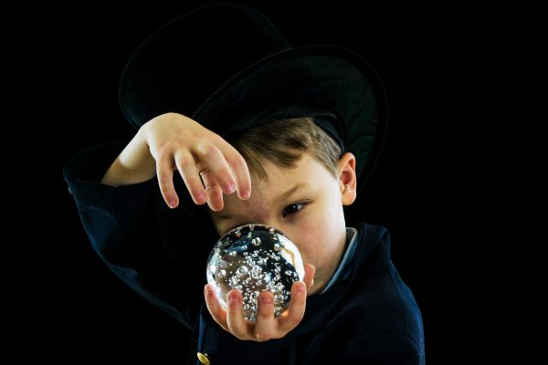 Boy with Top Hat conjuring from a crystal ball.  It is not magic.  Calculating Advertising ROI correctly and correctly referring to ROAS will build your credibility with your clients.